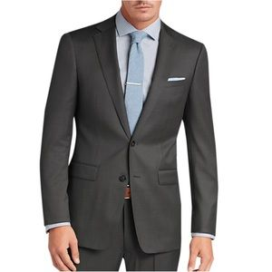 Calvin Klein Gray Slim Fit Suit
